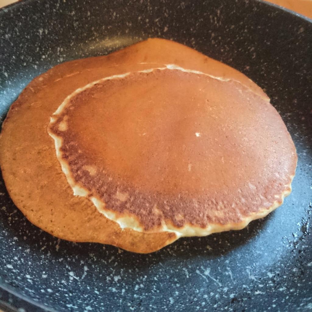 Cuisson pancake